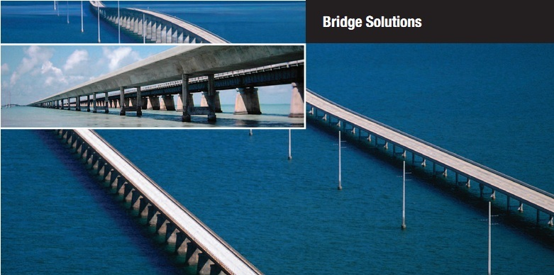 Specialized products for construction of bridge structures