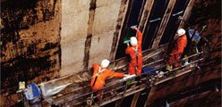 Strengthening of concrete and reinforced concrete structures